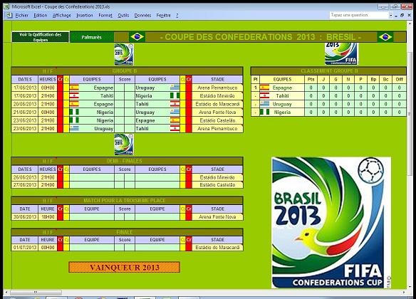 Footbuts coupe des confederations 2013 - Coupe des confederations 2009 ...