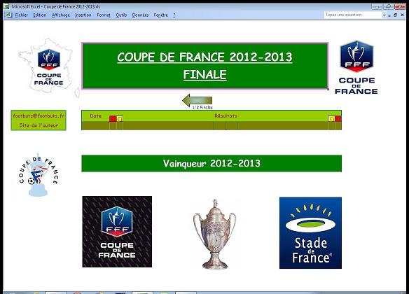 Footbuts coupe de france 2012 2013 - Coupe de france 2012 2013 ...